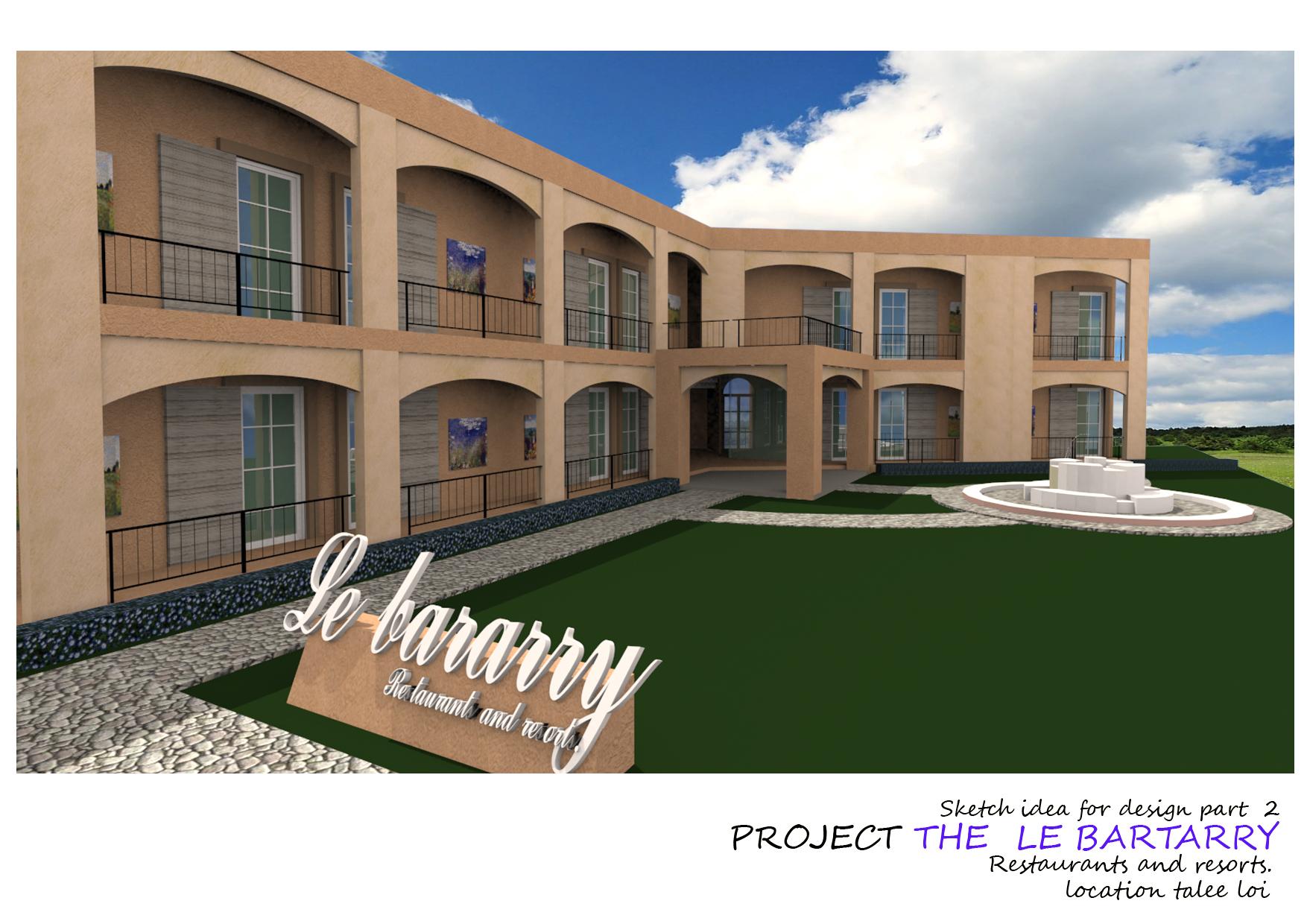 ก่อสร้างโรงแรม